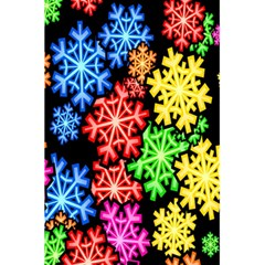 Colourful Snowflake Wallpaper Pattern 5 5  X 8 5  Notebooks by Nexatart