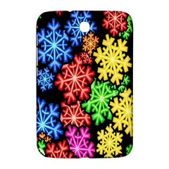 Colourful Snowflake Wallpaper Pattern Samsung Galaxy Note 8 0 N5100 Hardshell Case