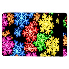 Colourful Snowflake Wallpaper Pattern Ipad Air Flip