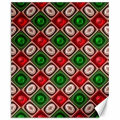 Gem Texture A Completely Seamless Tile Able Background Design Canvas 20  X 24   by Nexatart