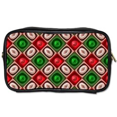Gem Texture A Completely Seamless Tile Able Background Design Toiletries Bags by Nexatart