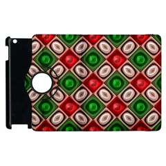 Gem Texture A Completely Seamless Tile Able Background Design Apple Ipad 3/4 Flip 360 Case by Nexatart