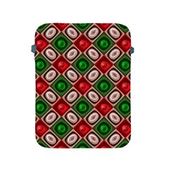 Gem Texture A Completely Seamless Tile Able Background Design Apple Ipad 2/3/4 Protective Soft Cases by Nexatart