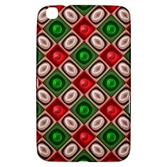 Gem Texture A Completely Seamless Tile Able Background Design Samsung Galaxy Tab 3 (8 ) T3100 Hardshell Case  by Nexatart