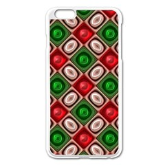 Gem Texture A Completely Seamless Tile Able Background Design Apple Iphone 6 Plus/6s Plus Enamel White Case by Nexatart