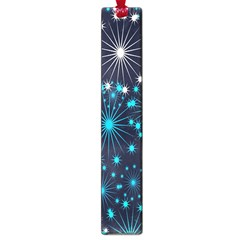Digitally Created Snowflake Pattern Background Large Book Marks