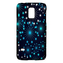 Digitally Created Snowflake Pattern Background Galaxy S5 Mini