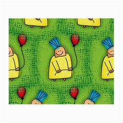 Party Kid A Completely Seamless Tile Able Design Small Glasses Cloth (2 Side) by Nexatart