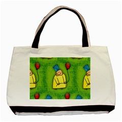 Party Kid A Completely Seamless Tile Able Design Basic Tote Bag (two Sides)