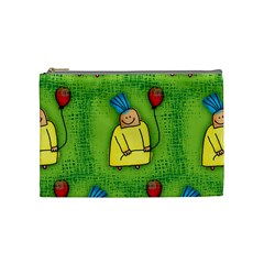 Party Kid A Completely Seamless Tile Able Design Cosmetic Bag (medium)