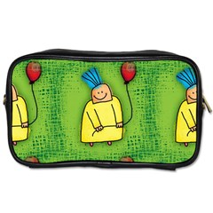 Party Kid A Completely Seamless Tile Able Design Toiletries Bags by Nexatart