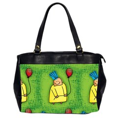 Party Kid A Completely Seamless Tile Able Design Office Handbags (2 Sides)  by Nexatart