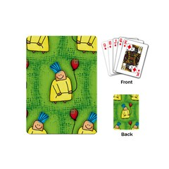 Party Kid A Completely Seamless Tile Able Design Playing Cards (mini)  by Nexatart