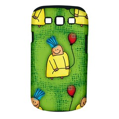 Party Kid A Completely Seamless Tile Able Design Samsung Galaxy S Iii Classic Hardshell Case (pc+silicone)
