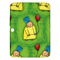 Party Kid A Completely Seamless Tile Able Design Samsung Galaxy Tab 3 (10 1 ) P5200 Hardshell Case  by Nexatart