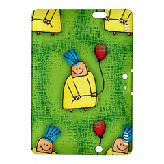 Party Kid A Completely Seamless Tile Able Design Kindle Fire Hdx 8 9  Hardshell Case by Nexatart