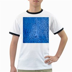 Water Drops On Car Ringer T Shirts