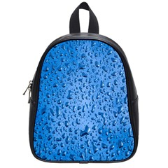 Water Drops On Car School Bags (small)  by Nexatart