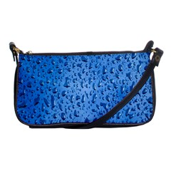 Water Drops On Car Shoulder Clutch Bags
