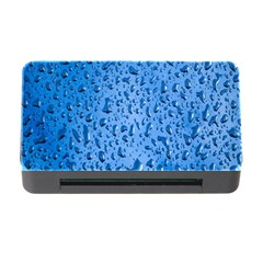 Water Drops On Car Memory Card Reader With Cf by Nexatart