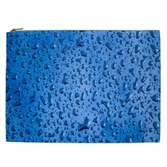 Water Drops On Car Cosmetic Bag (xxl)  by Nexatart