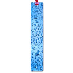 Water Drops On Car Large Book Marks by Nexatart