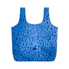 Water Drops On Car Full Print Recycle Bags (m)