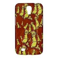 Cartoon Grunge Cat Wallpaper Background Samsung Galaxy Mega 6 3  I9200 Hardshell Case