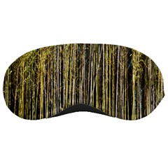 Bamboo Trees Background Sleeping Masks