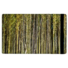 Bamboo Trees Background Apple Ipad 2 Flip Case by Nexatart