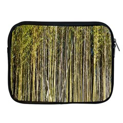 Bamboo Trees Background Apple Ipad 2/3/4 Zipper Cases by Nexatart