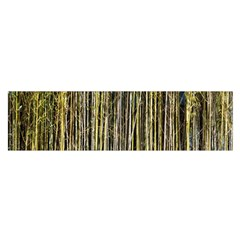 Bamboo Trees Background Satin Scarf (oblong) by Nexatart