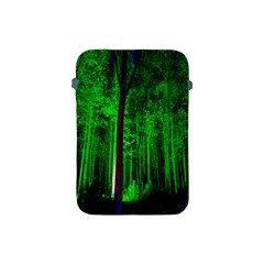 Spooky Forest With Illuminated Trees Apple Ipad Mini Protective Soft Cases