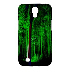 Spooky Forest With Illuminated Trees Samsung Galaxy Mega 6 3  I9200 Hardshell Case