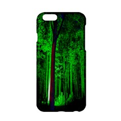 Spooky Forest With Illuminated Trees Apple Iphone 6/6s Hardshell Case
