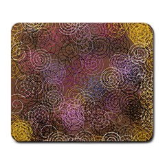 2000 Spirals Many Colorful Spirals Large Mousepads by Nexatart
