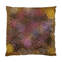 2000 Spirals Many Colorful Spirals Standard Cushion Case (two Sides) by Nexatart