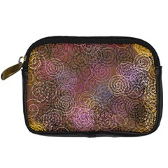 2000 Spirals Many Colorful Spirals Digital Camera Cases