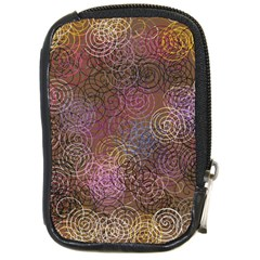 2000 Spirals Many Colorful Spirals Compact Camera Cases by Nexatart