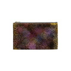 2000 Spirals Many Colorful Spirals Cosmetic Bag (small)  by Nexatart