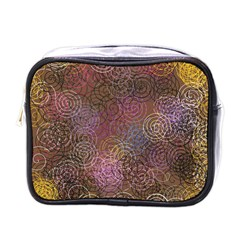 2000 Spirals Many Colorful Spirals Mini Toiletries Bags by Nexatart