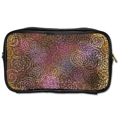 2000 Spirals Many Colorful Spirals Toiletries Bags 2 Side by Nexatart