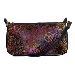 2000 Spirals Many Colorful Spirals Shoulder Clutch Bags by Nexatart