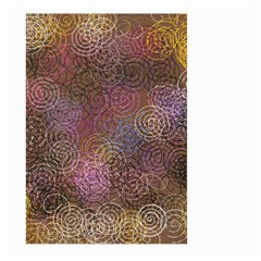 2000 Spirals Many Colorful Spirals Large Garden Flag (two Sides) by Nexatart