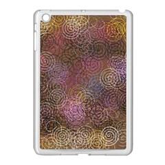 2000 Spirals Many Colorful Spirals Apple Ipad Mini Case (white) by Nexatart
