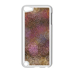 2000 Spirals Many Colorful Spirals Apple Ipod Touch 5 Case (white) by Nexatart