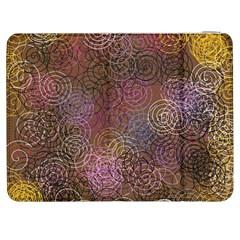 2000 Spirals Many Colorful Spirals Samsung Galaxy Tab 7  P1000 Flip Case by Nexatart