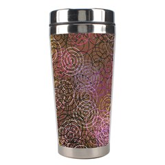 2000 Spirals Many Colorful Spirals Stainless Steel Travel Tumblers by Nexatart
