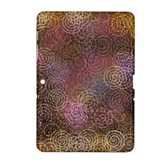 2000 Spirals Many Colorful Spirals Samsung Galaxy Tab 2 (10 1 ) P5100 Hardshell Case  by Nexatart