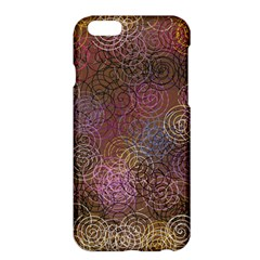 2000 Spirals Many Colorful Spirals Apple Iphone 6 Plus/6s Plus Hardshell Case